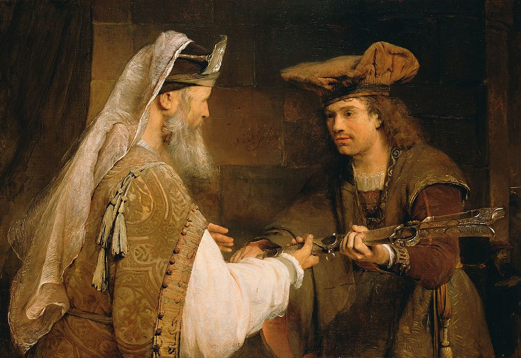 Ahimelech_Giving_the_Sword_of_Goliath_to_David