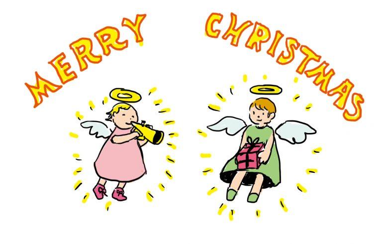 天使を描いてみようtop