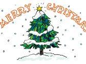 クリスマスツリーを描いてみよう