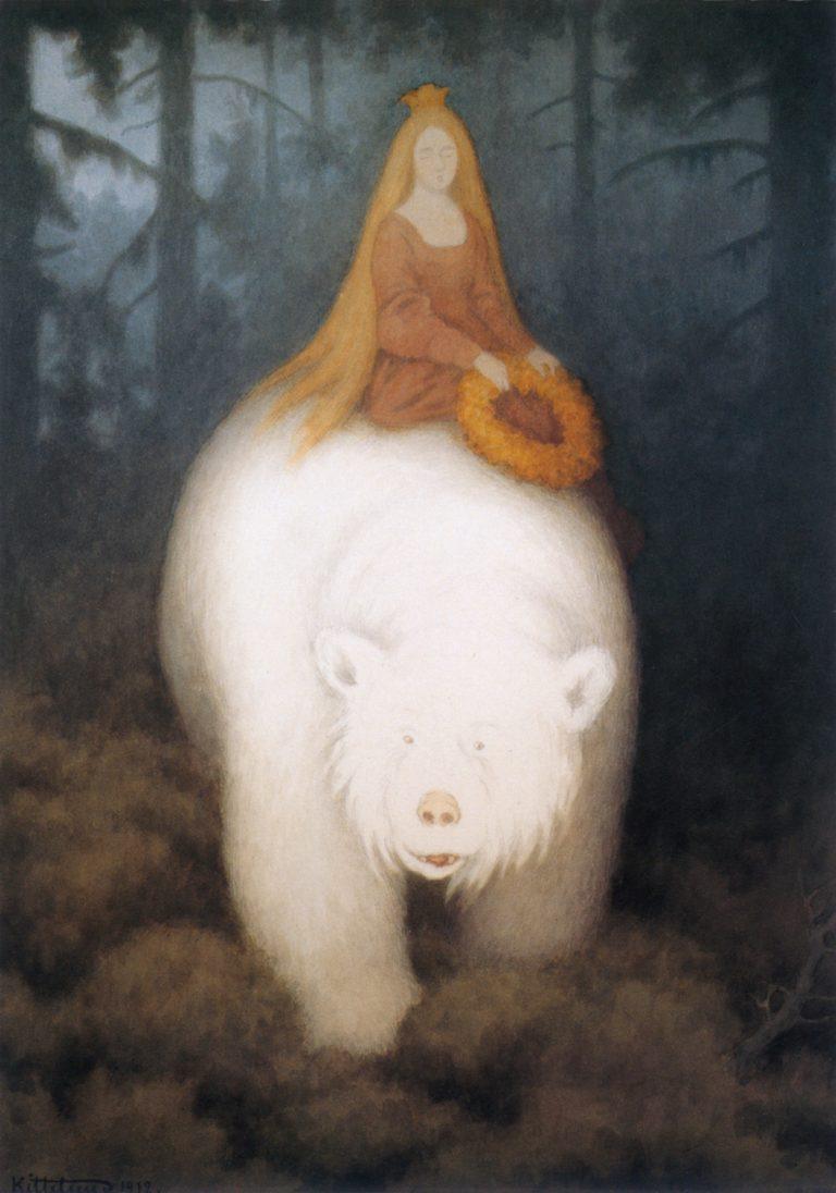 TheodorKittelsen-KvitebjørnKongValemon(1912)