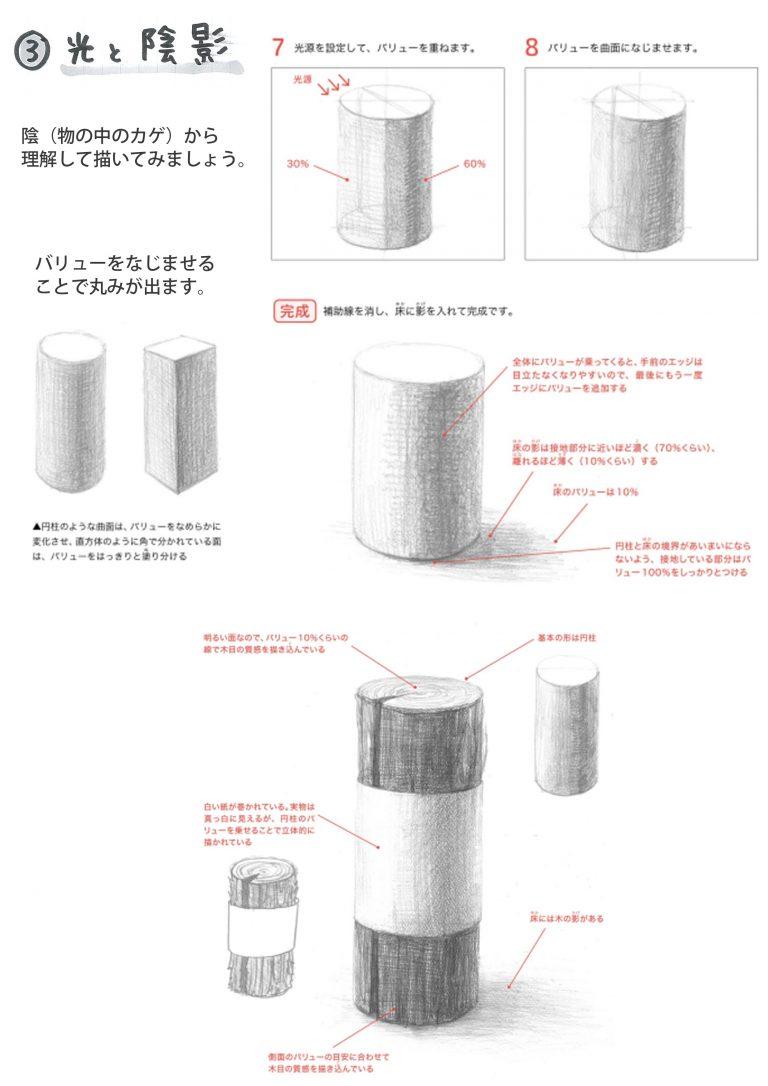 立体感_初級_円柱2