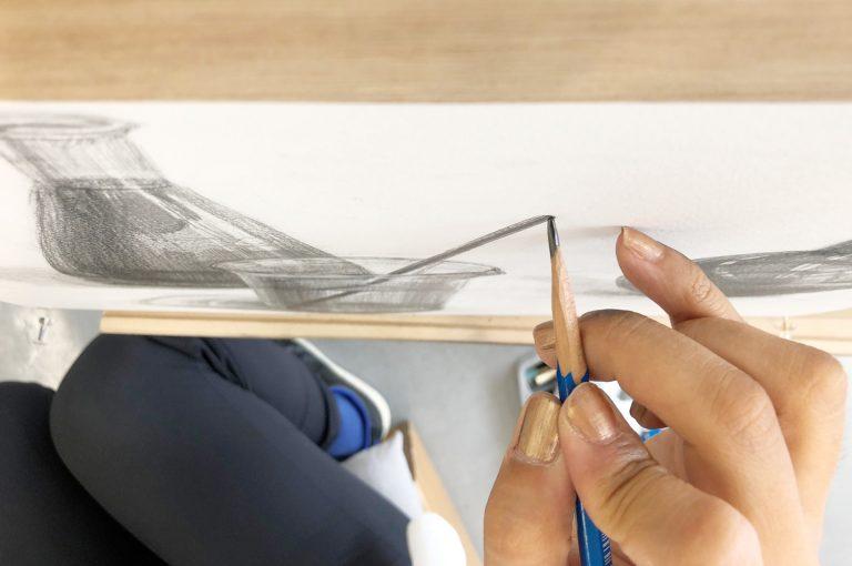 鉛筆の持ち方・使い方1