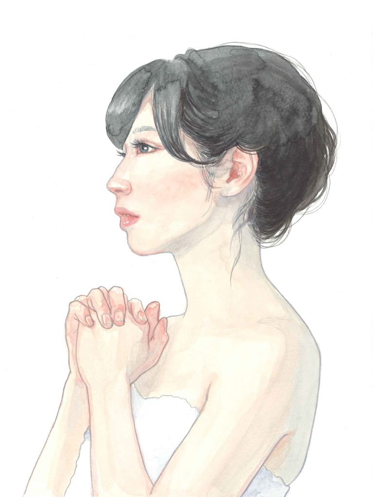 人物_水彩サンプル0530